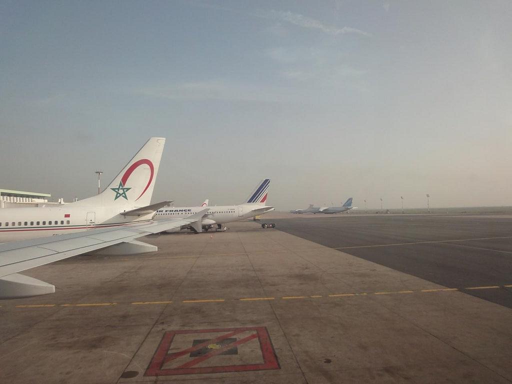 Aeropuerto Menara De Marrakech En Marruecos