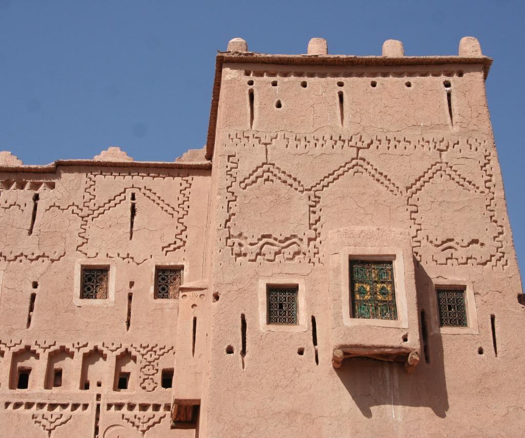 Arquitectura De Una Kasbah En Marruecos