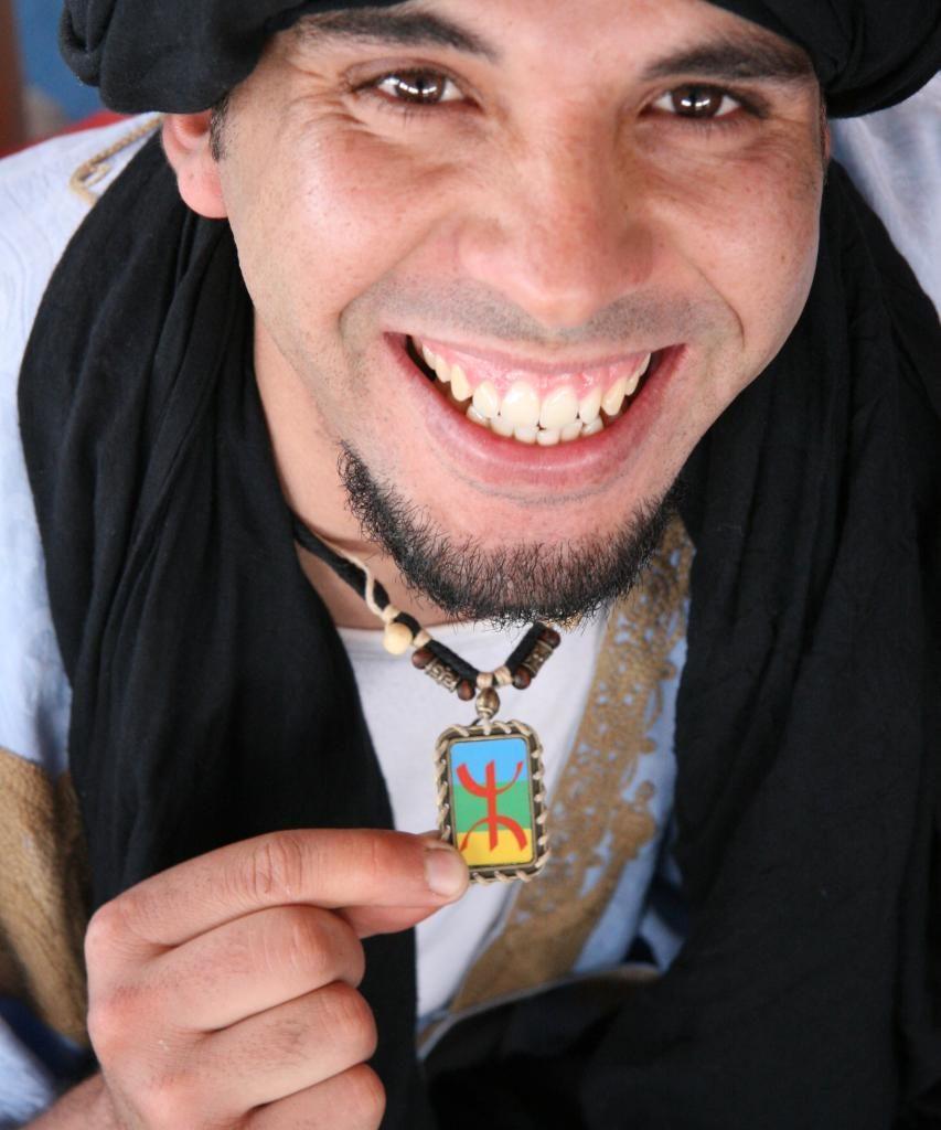Joven Berbere De Marruecos