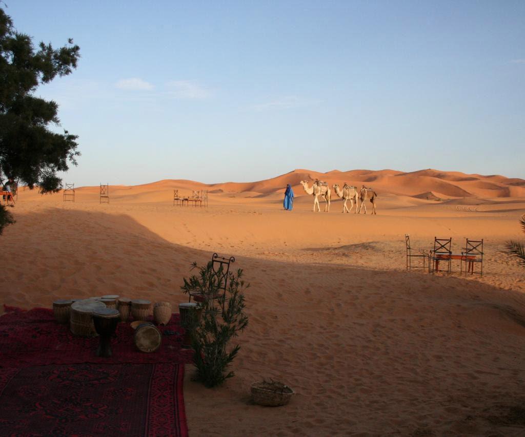 Dunas De Erg Chebbi En Marruecos