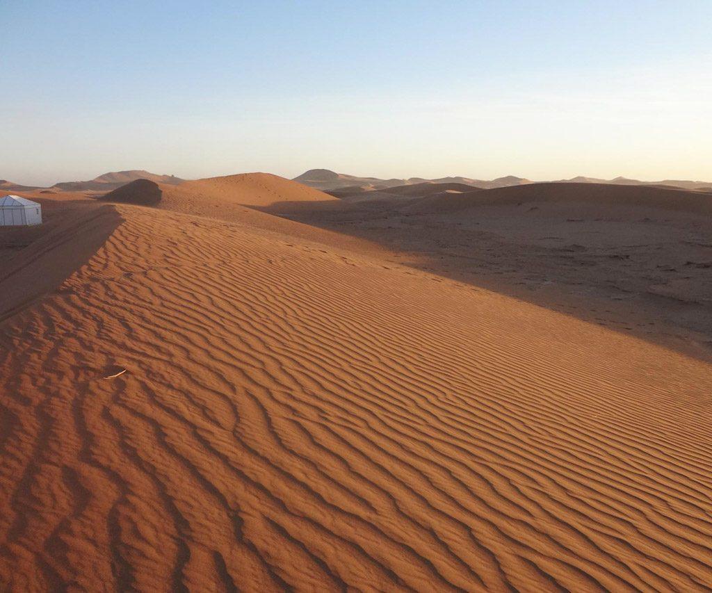 Dunas De Erg Chegaga En Marruecos
