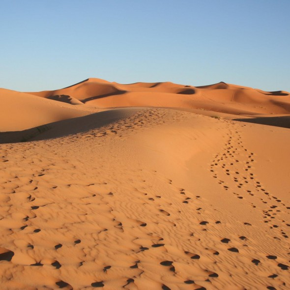 Incredibles dunas de Erg Chebbi