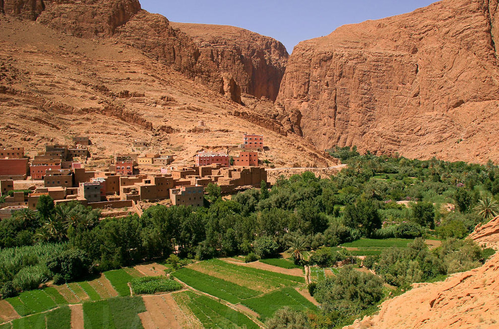Gorges Du Todra En Marruecos