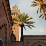 Torre de la Mezquita Koutoubia en Marrakech