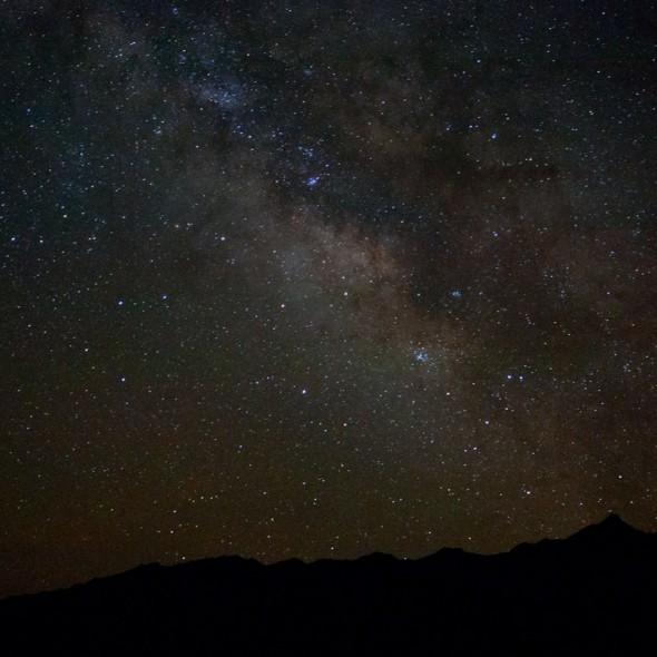 Cielo estrellado del Desierto en Marruecos