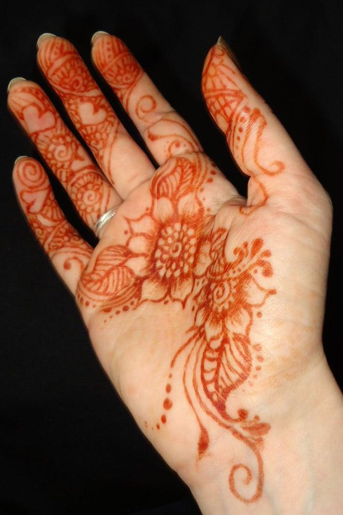 Tatuaje De Henna Marroquí