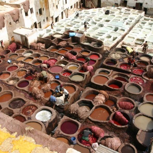 Medina de Fez en Marruecos