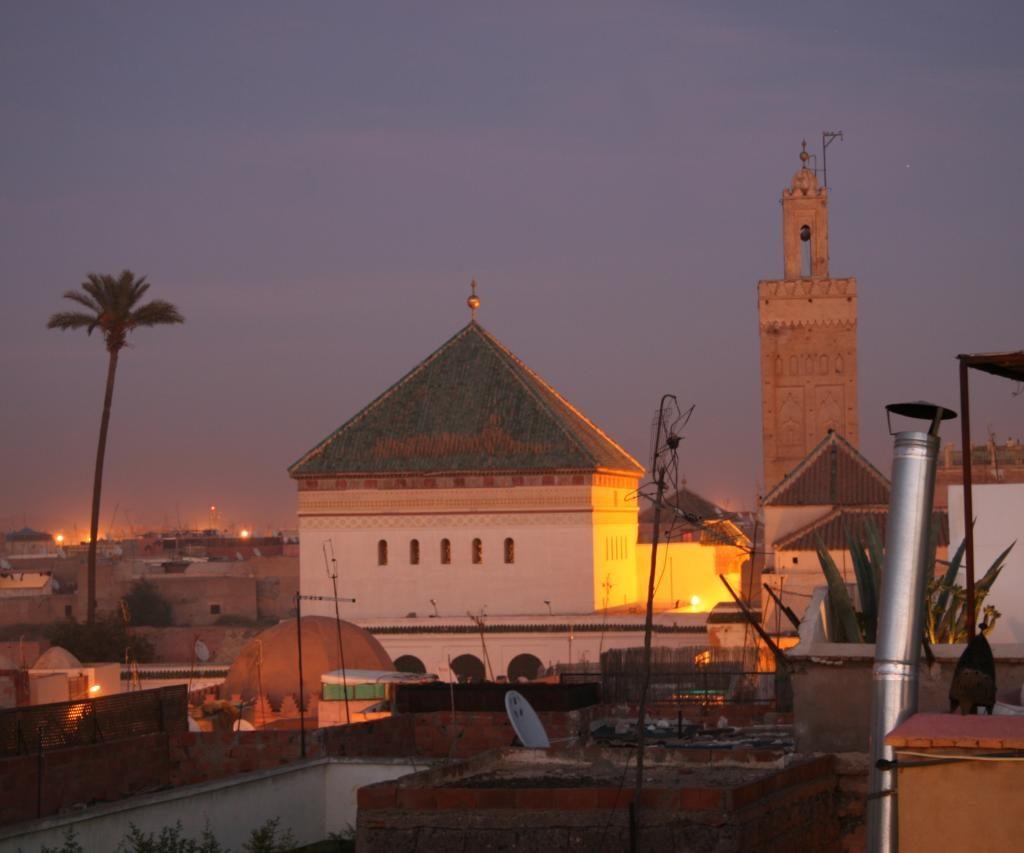Mezquita En Marrakech