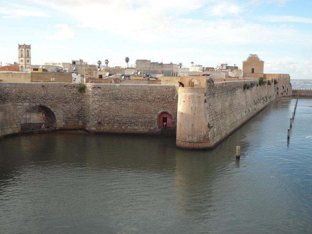 Murallas De El Jadida En Marruecos