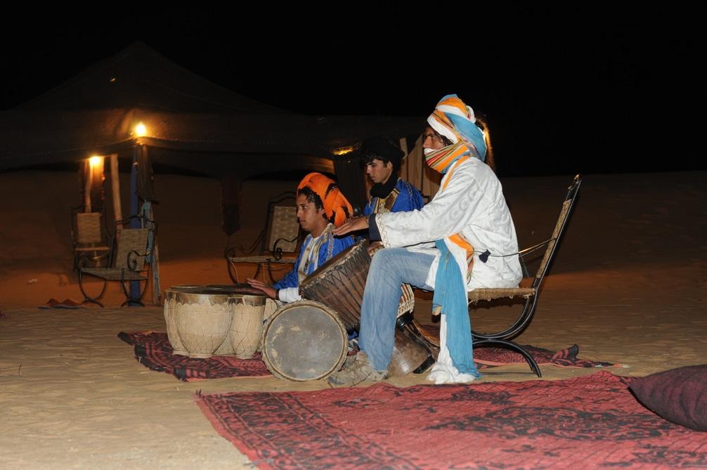 Musica Del Desierto De Merzouga De Marruecos