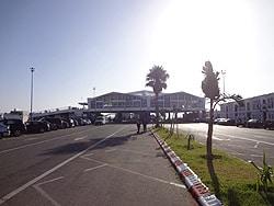 Puerto de Tánger en Marruecos