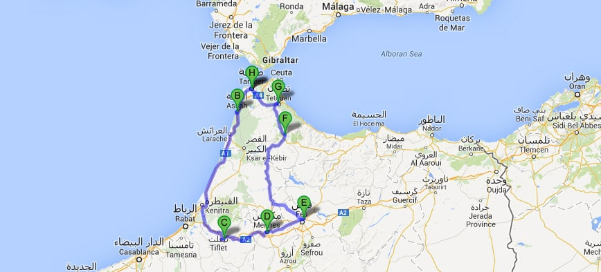 Ruta Norte de Marruecos 7 días