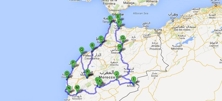 Ruta Todo de Marruecos 17 días
