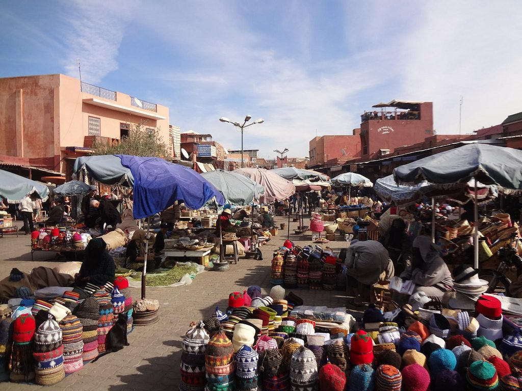 Souk O Mercado En Marrakech