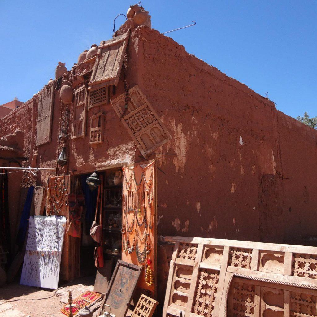 Tienda De Artesania En Ait Benhaddou