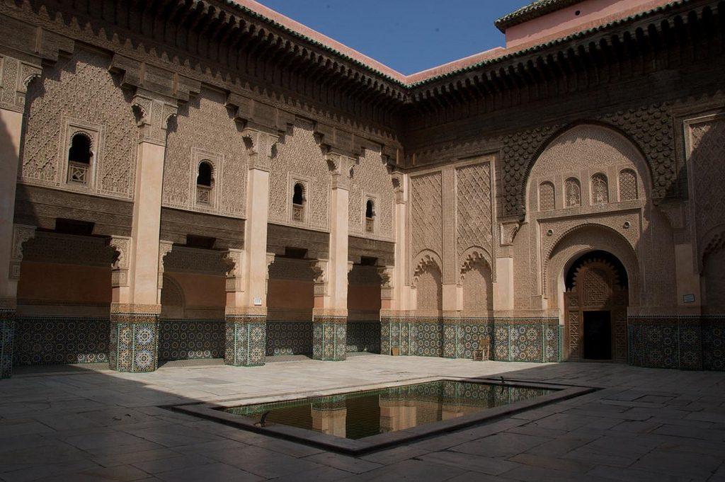 Madrasa Ben Youssef En La Medina Vieja De Marrakech