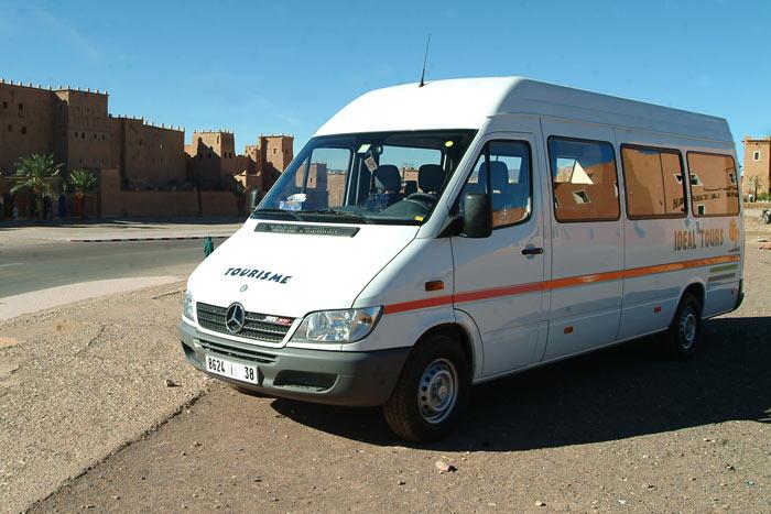 Alquiler minibus viajes en Marrakech y Marruecos
