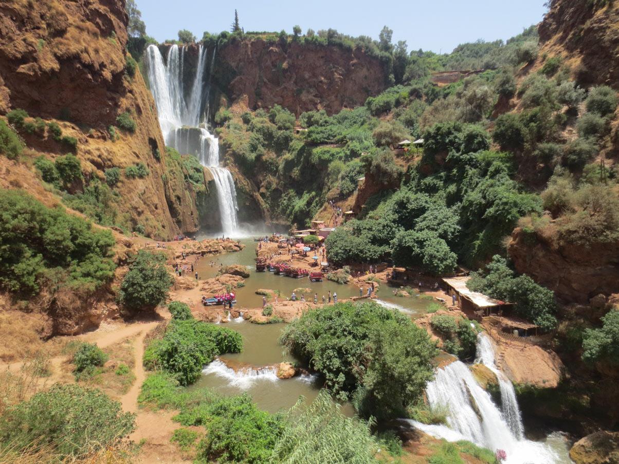 Cascada Ouzoud En Marruecos