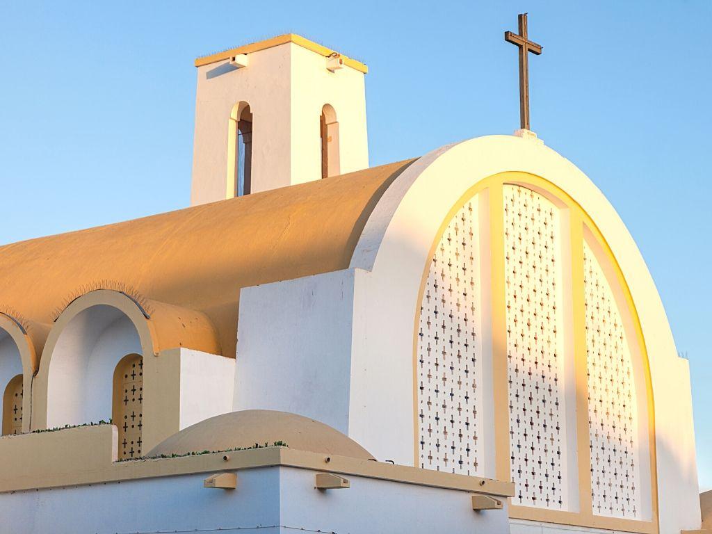Catedral espanola en El Aaiun Marruecos