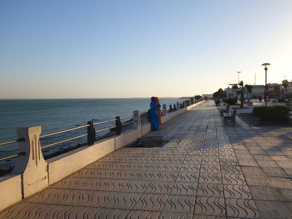 Ciudad de Dajla Marruecos