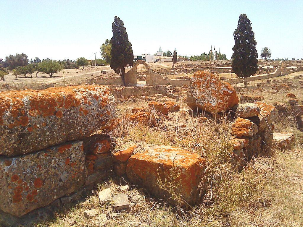 Ciudad romana de Iulia Valentia Banasa Marruecos