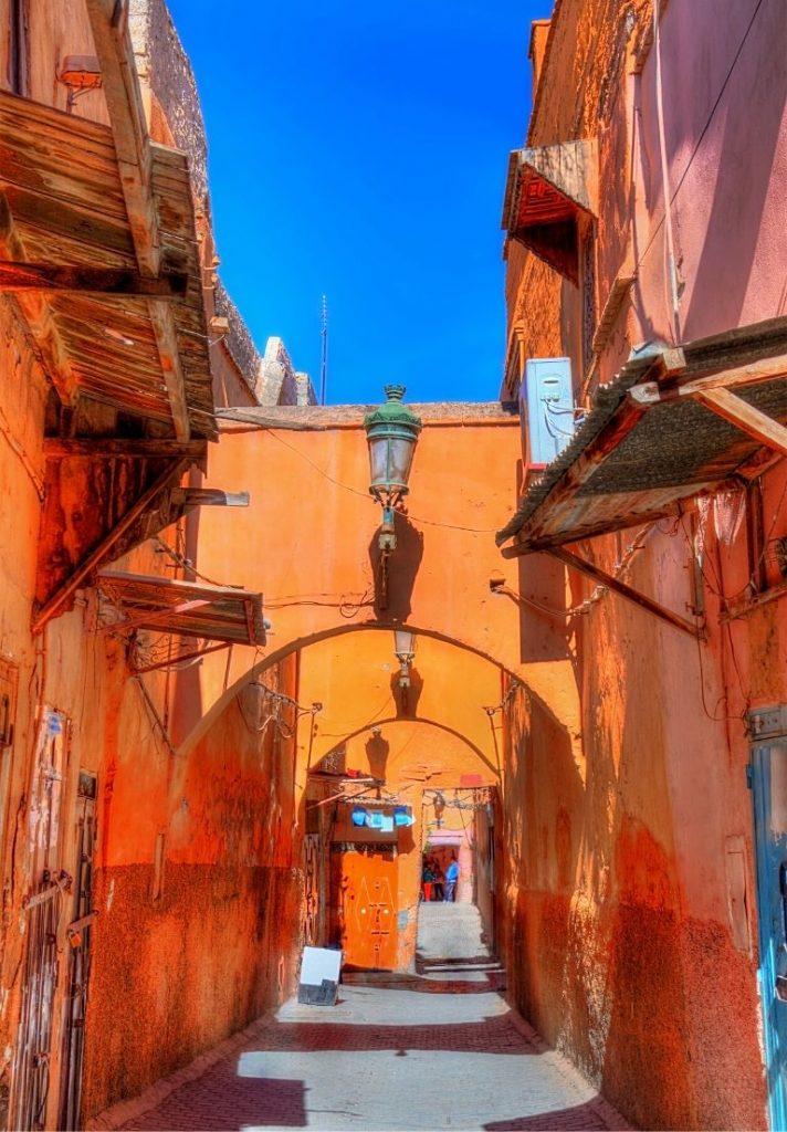 Clima de Marrakech Marruecos