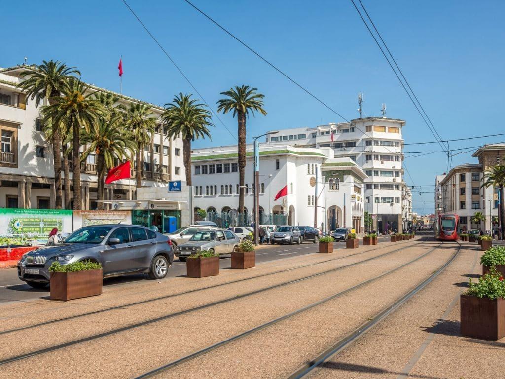 Cómo moverse dentro de la ciudad de Casablanca