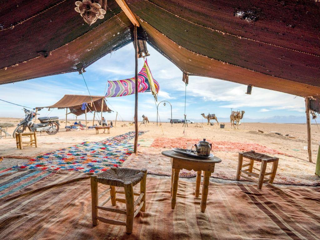 Desierto de Agafay Marruecos