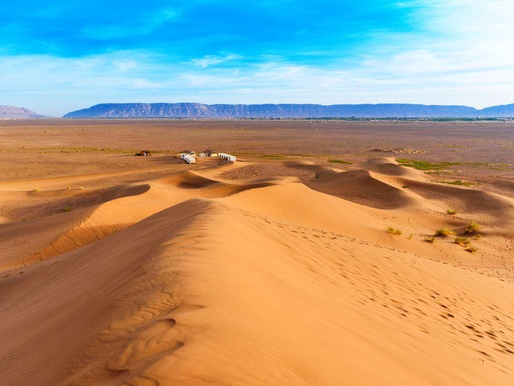 Dunas de Tinfou Marruecos