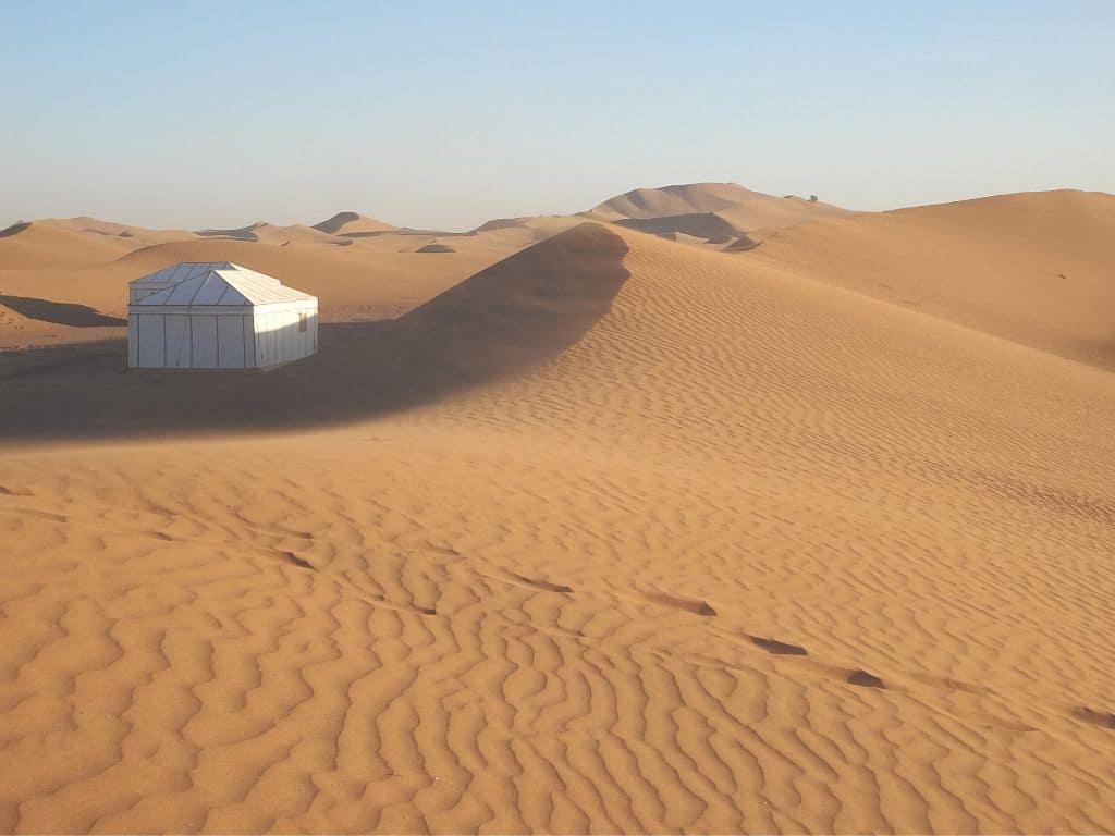 Dunas del Erg Chegaga Marruecos