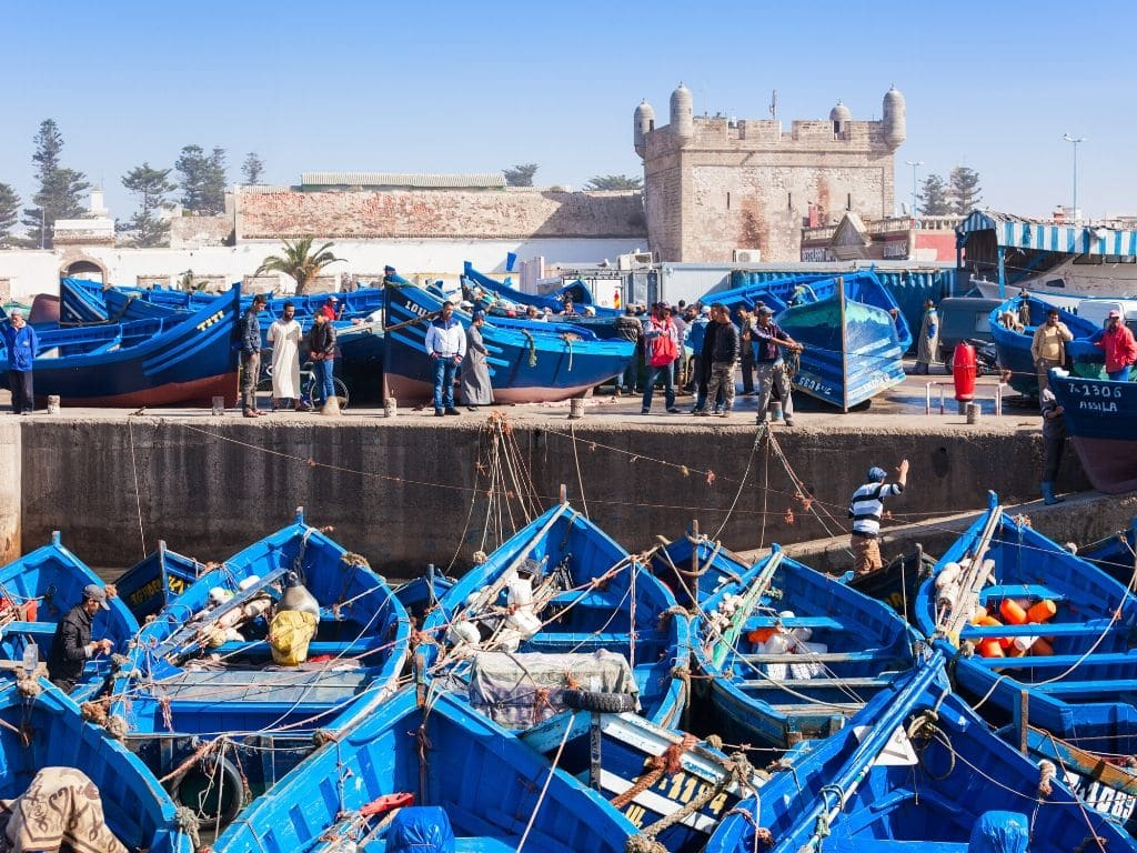 Essaouira en el día de hoy