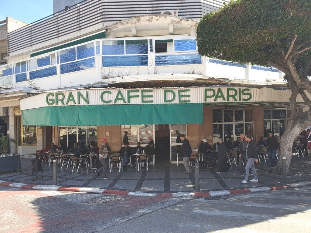 Gran Cafe de Paris en Tanger