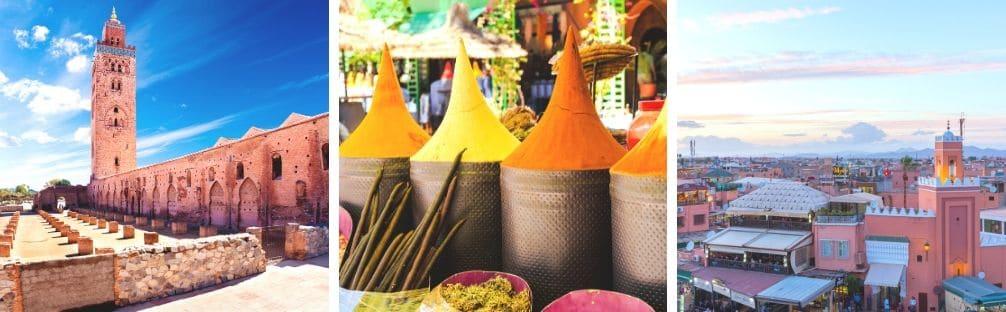 Guia para visitar Marrakech Marruecos