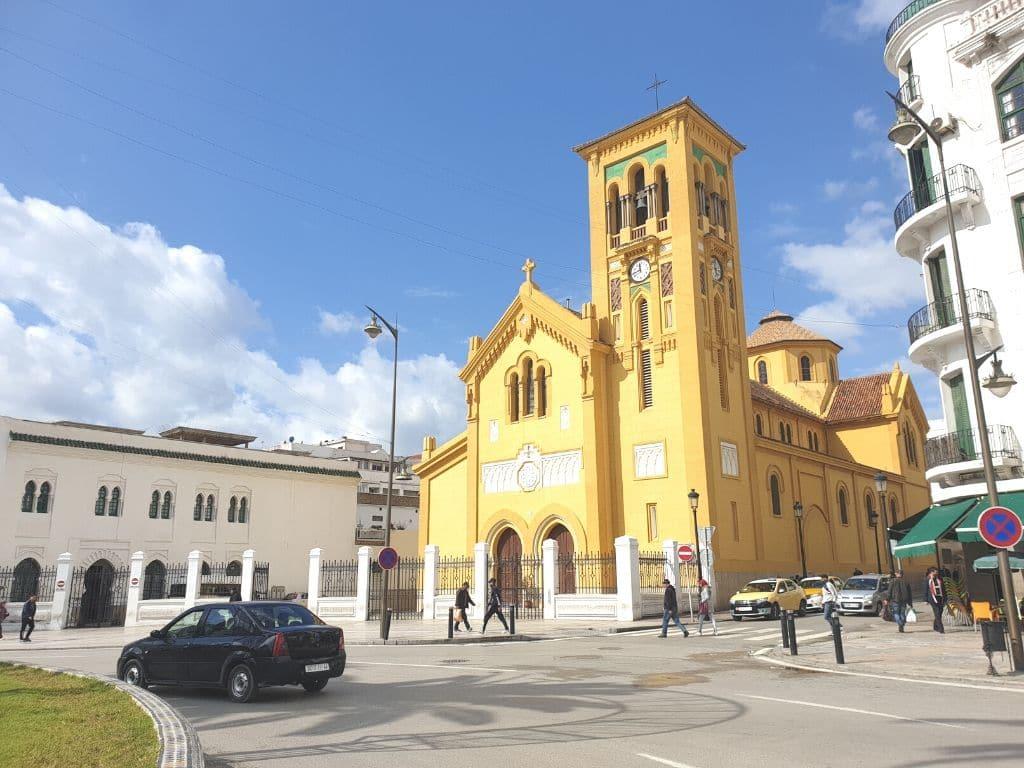 Iglesia Espanola de Tetuan en Marruecos