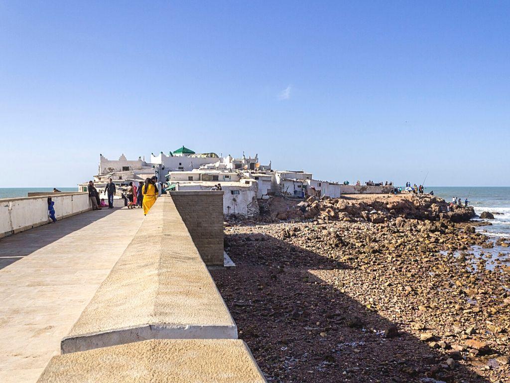 Isla Sidi Abderrahman Marruecos