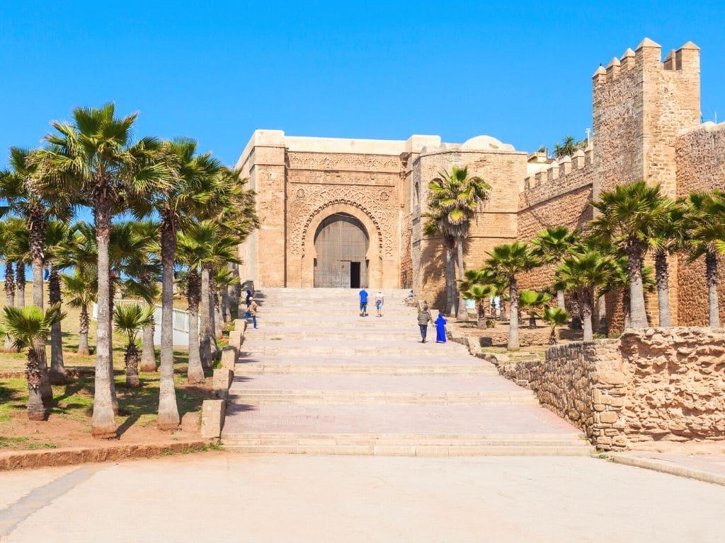 Jardines Andaluces en Rabat Marruecos