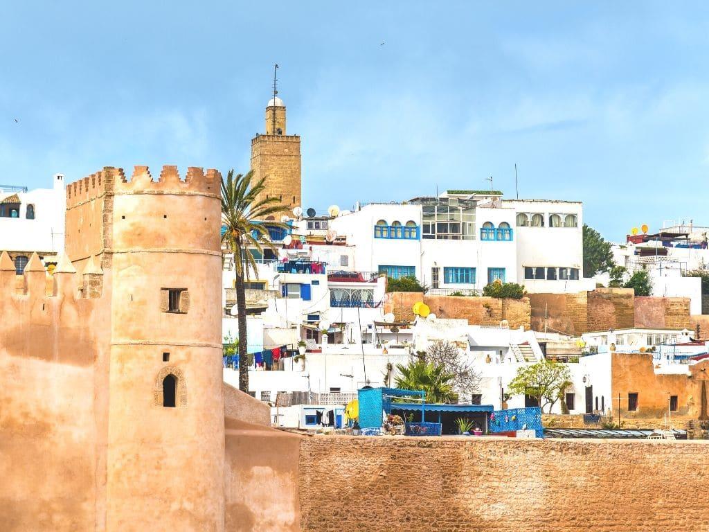 Kasbah de los Oudayas en Rabat Marruecos