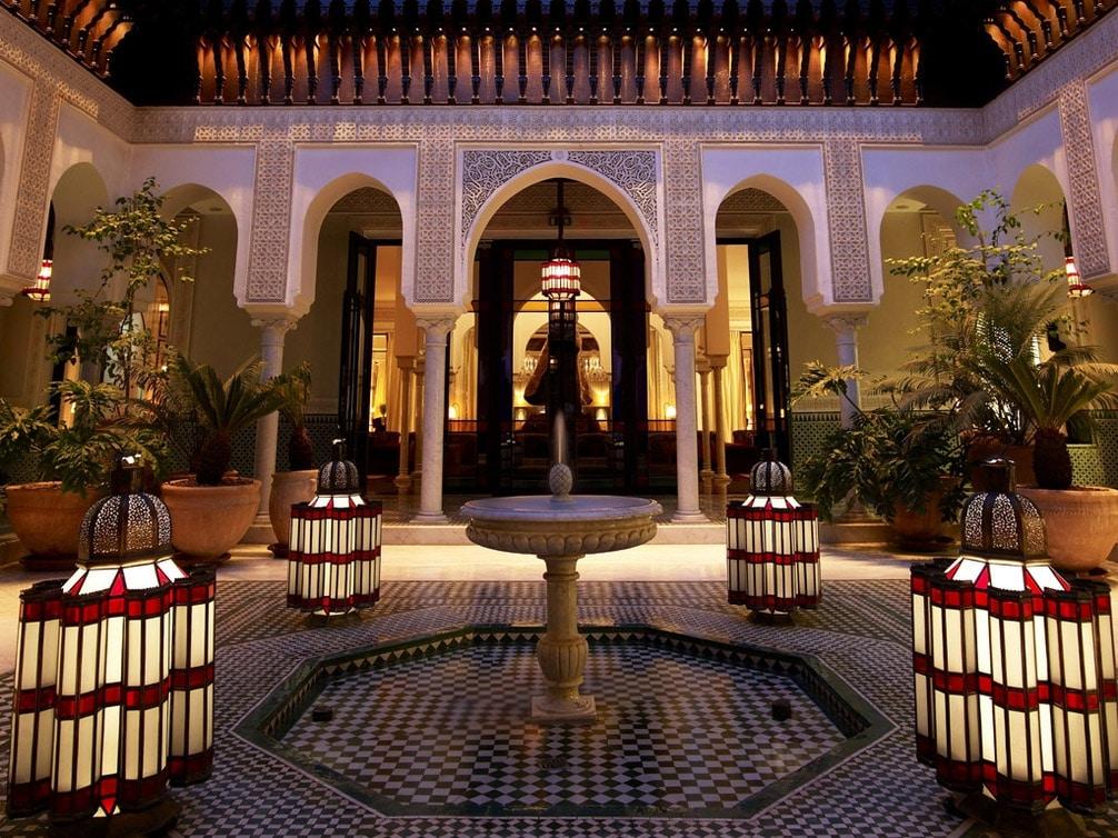 Hotel Ksar Char Bagh En Marrakech