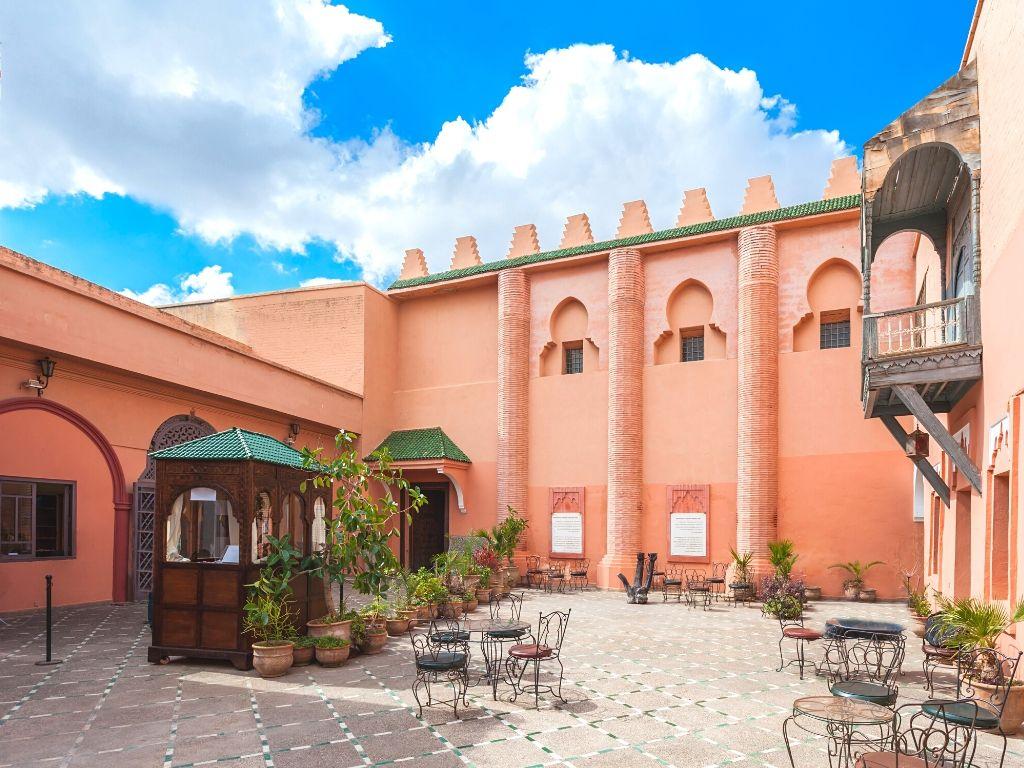 La medina de Marrakech Marruecos