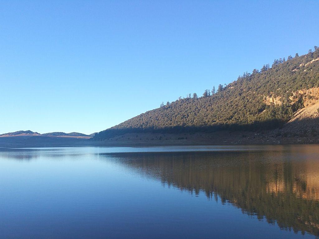Lago Azigza Marruecos