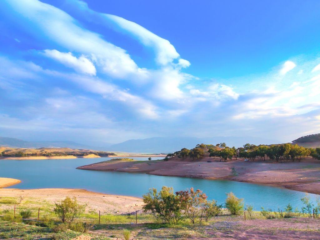 Lago Lalla Takerkoust Marruecos