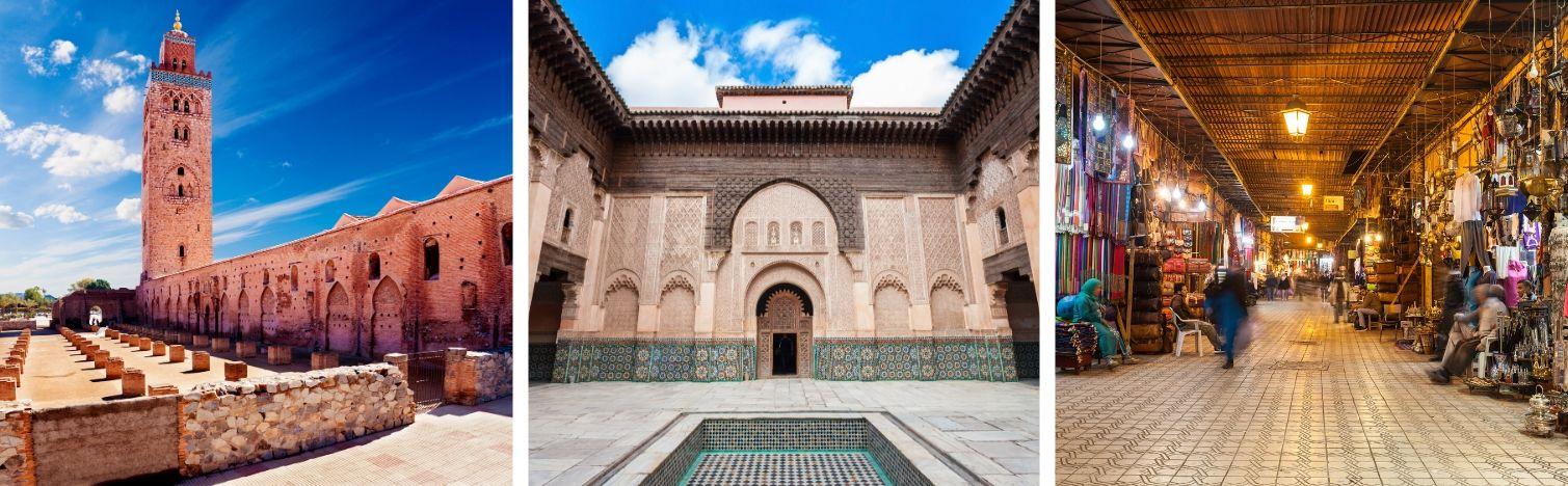 Marrakech, la capital de la región