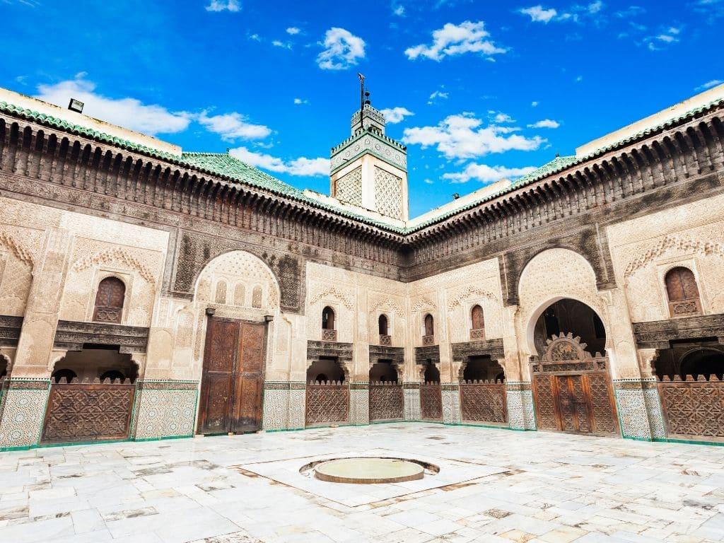 Medersa Bou Inania en Fez Marruecos
