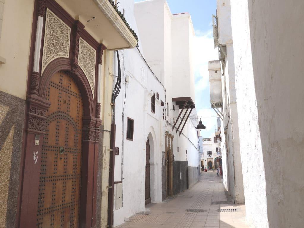 Medina de Rabat en Marruecos