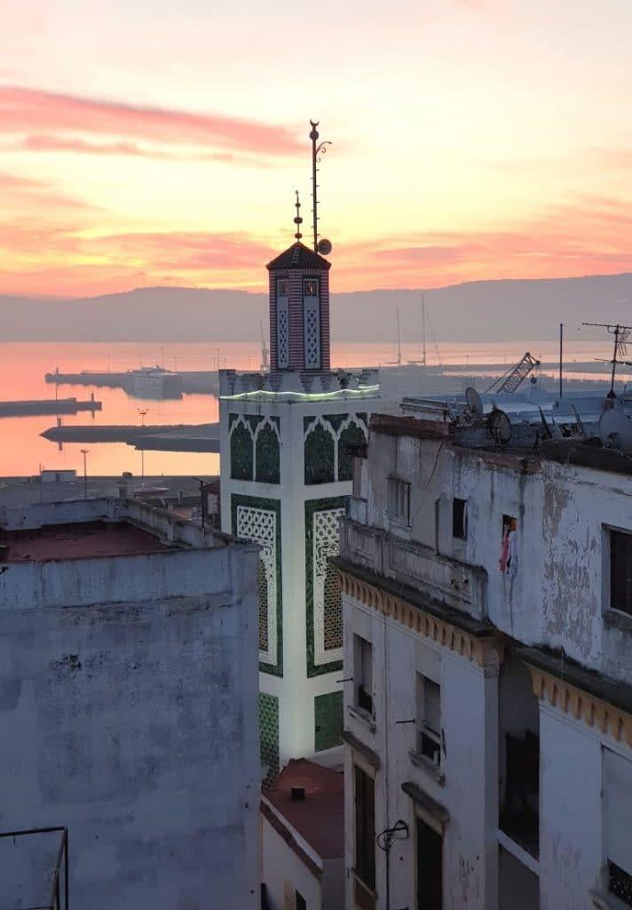 Medina de Tanger en Marruecos