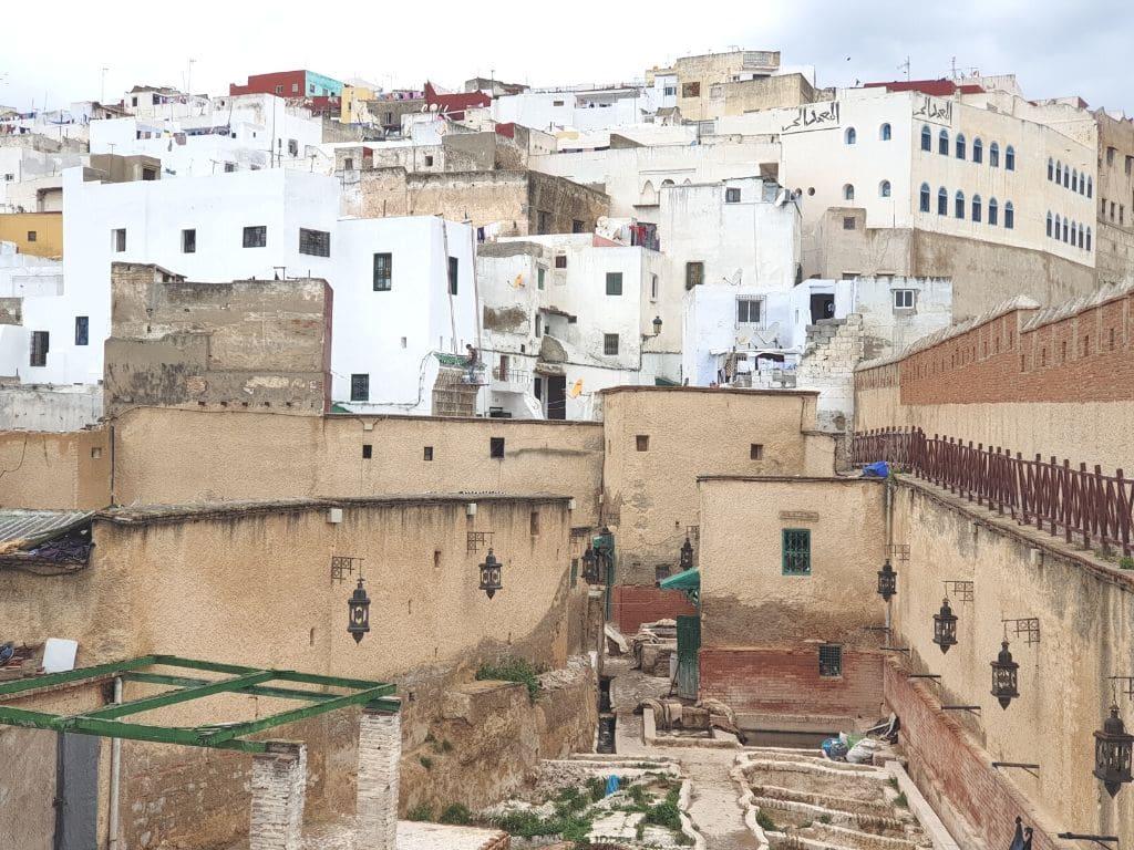 Medina de Tetuan en Marruecos