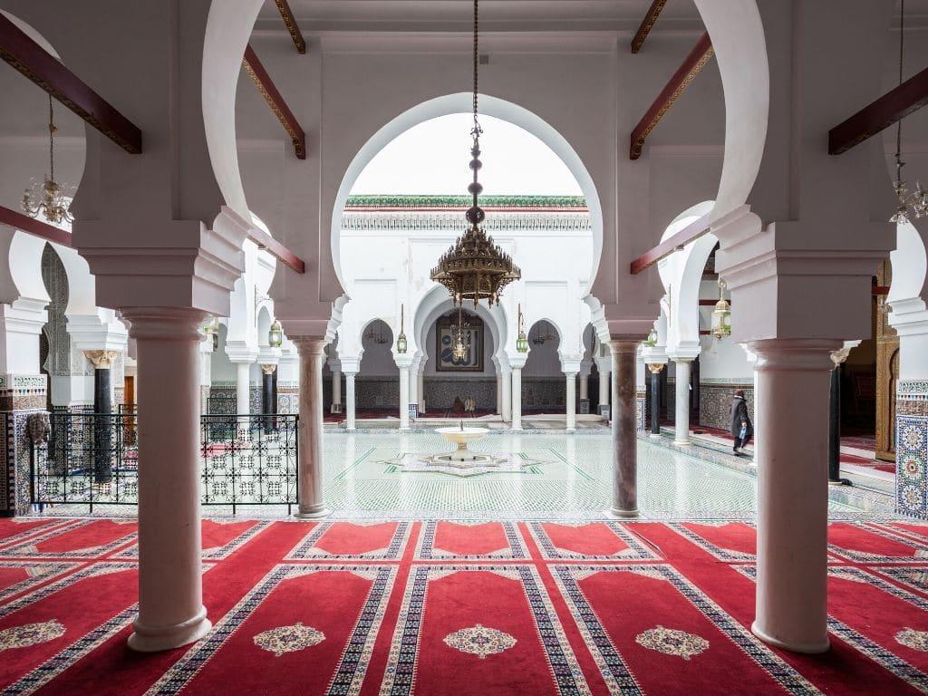 Mezquita Al-Quaraouiyine en Fez Marruecos
