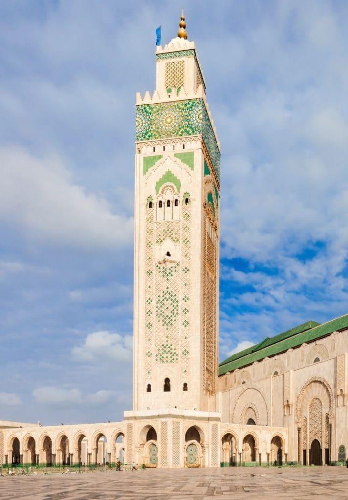 Mezquita Hassan II en Casablanca