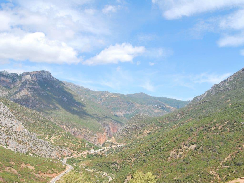 Montanas del Rif Marruecos