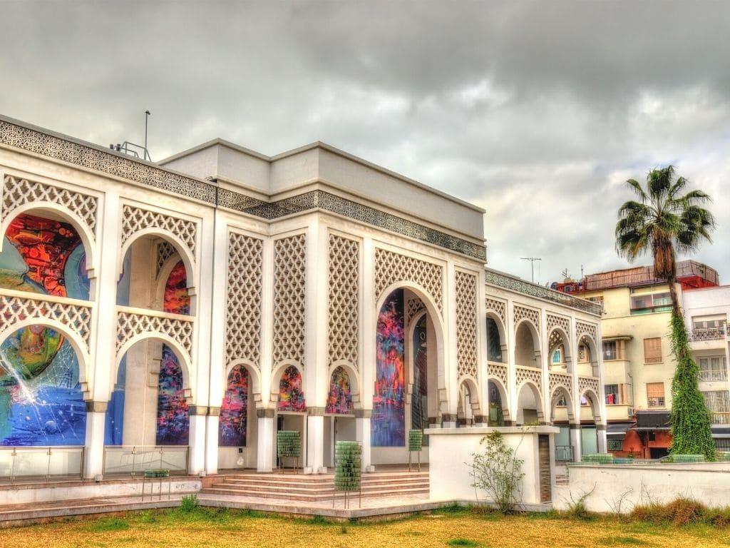 Museo de arte contemporáneo Mohammed VI